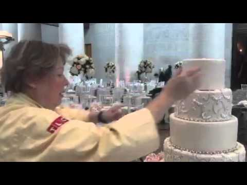 Behind The Scenes With Wedding Cake Designer Jan Kish