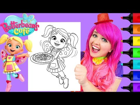 Coloring Cricket Butterbean's Caf Coloring Page Prismacolor Markers | KiMMi THE CLOWN