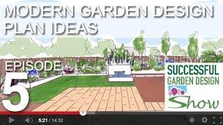 Garden Design Show 5 Modern Garden Design Ideas Youtube