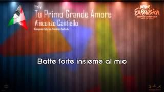 """Vincenzo Cantiello - """"Tu Primo Grande Amore"""" (Italy)"""