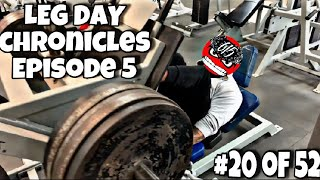 Leg Day Chronicles Ep.05 | The Most Uninspiring Video You'll Ever Watch