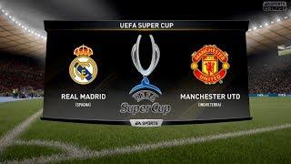 REAL MADRID VS MANCHESTER UTD - UEFA SUPER CUP 08/08/2017 |FIFA 17 Predicts - Pirelli7