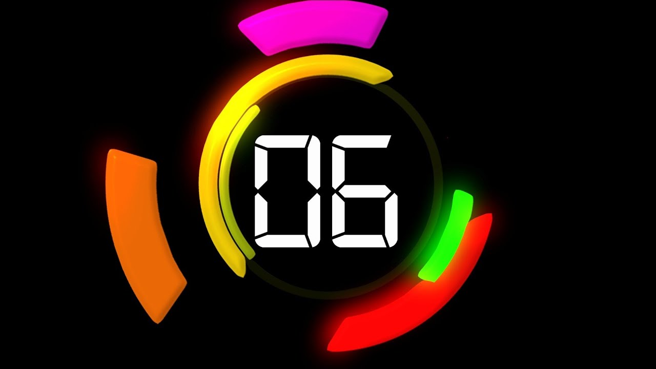 Klok Timer 60 Seconds Countdown - Timer With Voice And Sound Effects
