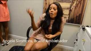 Repeat youtube video Exclusive Interview: Angela Simmons for DHair Boutique | Kierstin Elisabeth
