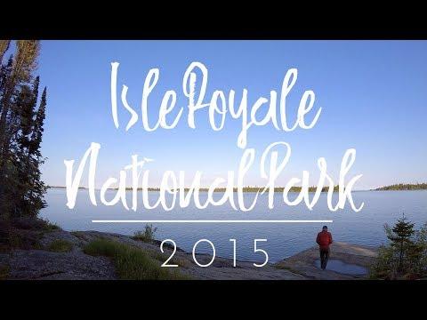 Isle Royale National Park Backpacking - June 2015