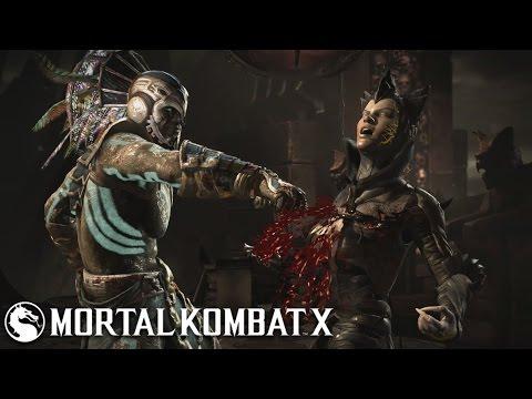 Mortal Kombat X  Kotal Kahn War God  Klassic Tower Very Hard No MatchesRounds Lost