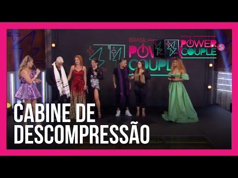 Cabine de Descompressão: Mari e Matheus e Deborah e Bruno falam sobre final do Power Couple Brasil 5