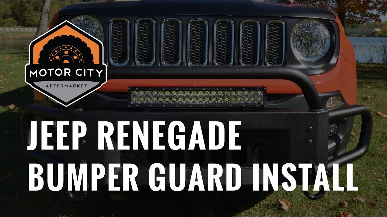Jeep Renegade Front Bumper Guard Motor City Aftermarket