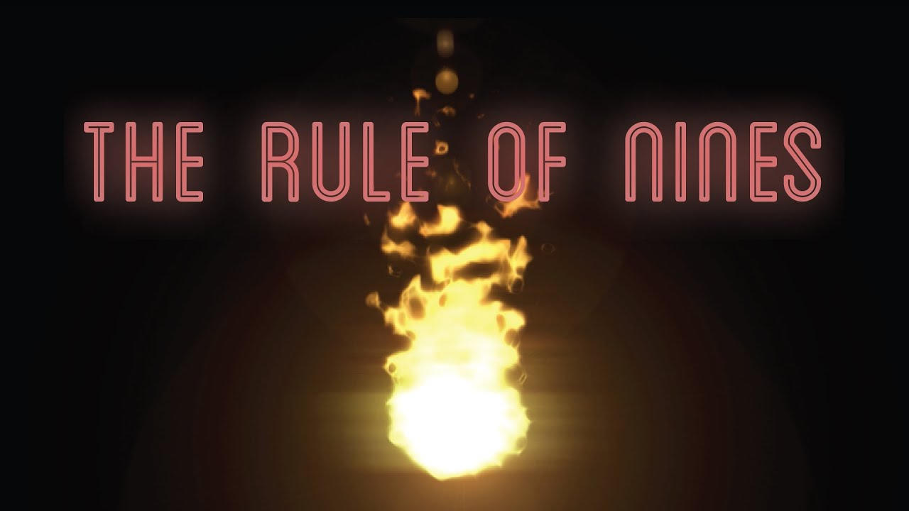 The Rule Of Nines For Burns Medzcool Youtube
