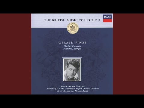 Finzi: Concerto For Clarinet And String Orchestra, Op.31 - 1. Allegro Vigoroso - L'istesso...