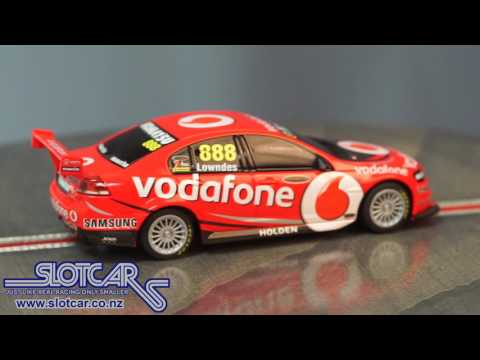 Scalextric Slot Car Holden Commodore V8 Supercar Lowndes Slotcar C1311 888