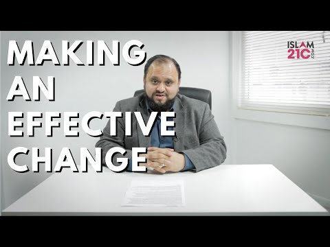 Parental Guidance Series   Intro: Making An Effective Change