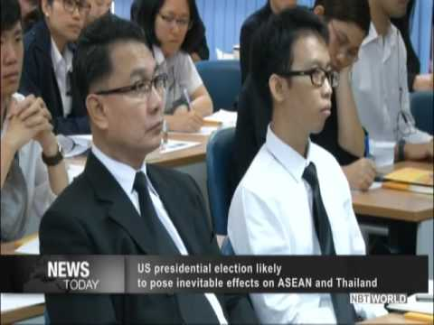 US presidential election likely to pose inevitable effects on ASEAN and Thailand