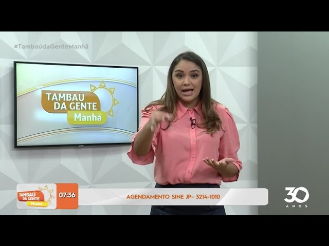 João Pessoa tem 152 vagas de emprego abertas; confira -Tambaú da Gente Manhã