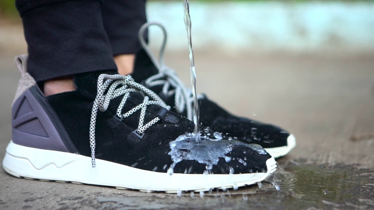 9ea58a1f5 Vetro Powered Adidas ZX FLUX ADV X Core Black vs Water - YouTube