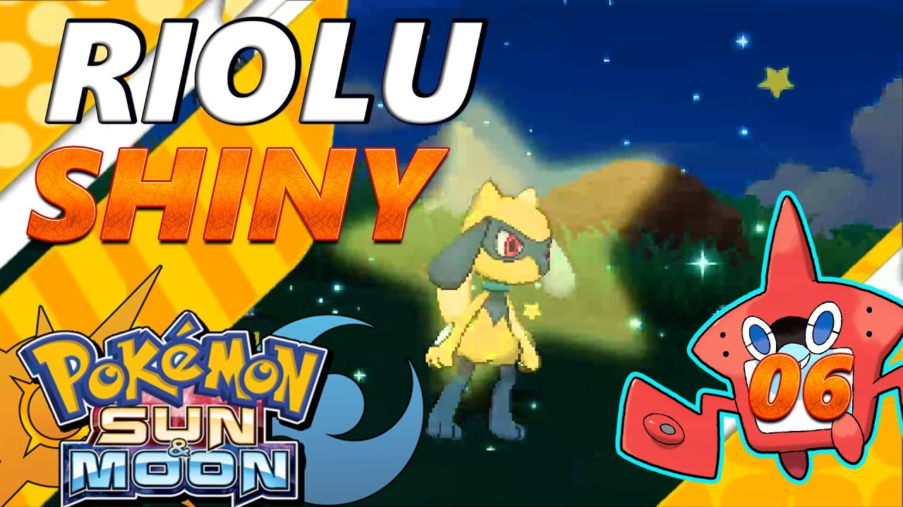 shiny riolu and lucario
