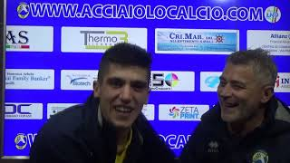 Interviste post partita Acciaiolo - Collevica