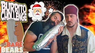 BURRITO_CHALLENGE_de_2'7Kg._SI_PIERDO_me_tinto_la_BARBA_BLANCA_-_El_Pirata_Vs_Joe
