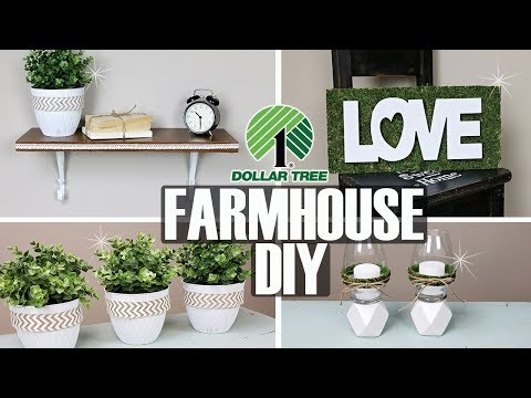 DOLLAR TREE FARMHOUSE DECOR ⚪ DOLLAR TREE FARMHOUSE DIY