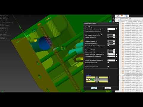TST Software: VISI Gun and Deep Hole Drilling