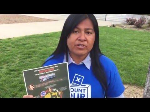 Silvia Lopez In Sacramento Asking Legislators For Help
