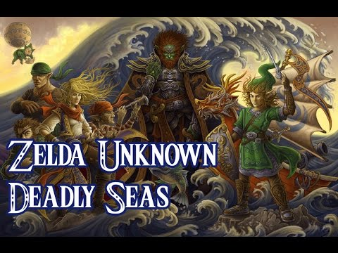 Zelda Breath of the Wild - The Sea and Pirate Timeline (Zelda Unknown)