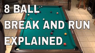 How to Run a Rack in 8-Ball ( Pool Lessons)