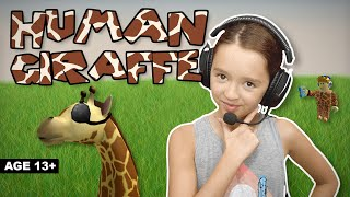 Roblox: I Am The Human Giraffe!