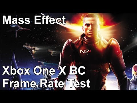 Mass Effect Xbox One X vs Xbox One vs Xbox 360 Backwards Compatibility Frame Rate Test