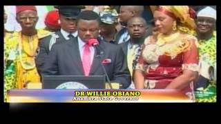 Dr. Willie Obiano sworn-in as Anambra State Governor