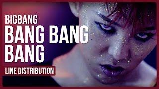 Let's see who got the most lines in BIGBANG's song BANG BANG BANG !...