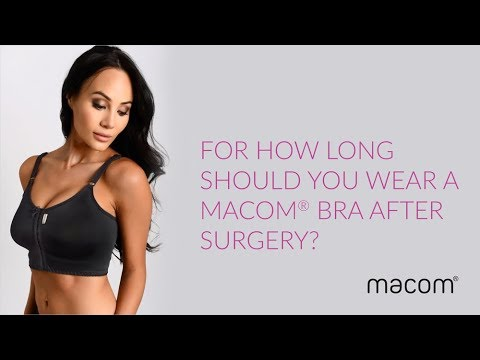 8ed9520d0f942 For how long should you wear a macom® bra after surgery  - YouTube