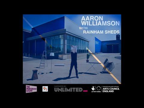 Aaron Williamson with Rainham Sheds - Demonstrating the World