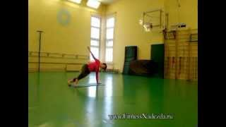 Упражнения для тонкой талии и стройных ног(Милые дамы! Вы мечтаете о тонкой талии? Этот видео урок поможет приблизиться к желаемому результату. Нужно,..., 2012-02-28T22:18:46.000Z)