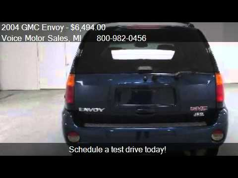 2004 gmc envoy sle 4x4 4 door for sale in kalkaska mi for Voice motors kalkaska michigan