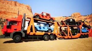 Brick Rigs MODS PC - HUGE LEGO TRUCK CAR TRANSPORTER!!