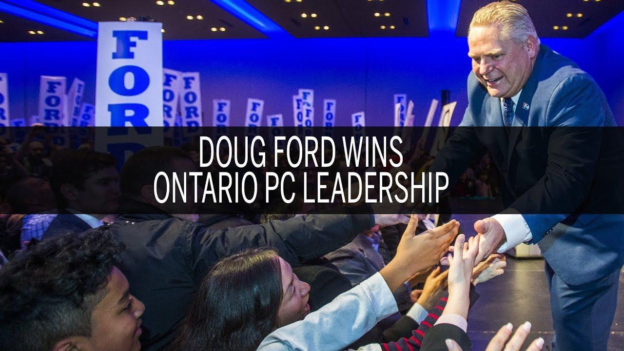 Doug Ford wins Ontario PC leadership