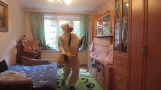 Дезинсекция 2-х комнатной квартиры от блох м. Бабушкинская