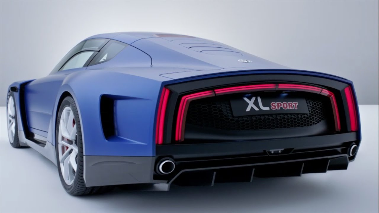 Citaten Sport Xl : Volkswagen xl sport world premiere youtube