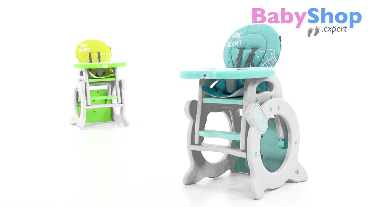 Kombi Hochstuhl Stars Q 2in1 Tisch & Stuhl