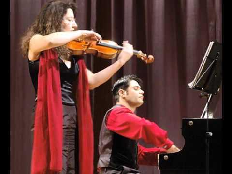 Franck Sonata violine/piano: ISABEL STEINBACH + PERVEZ MODY
