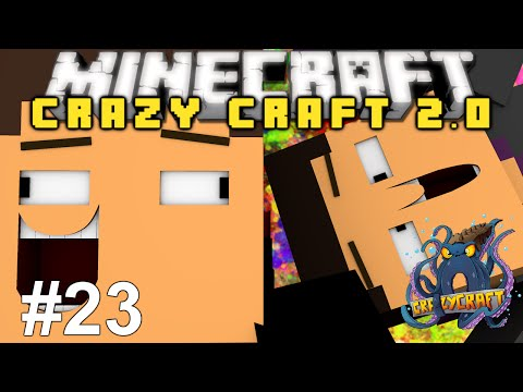 Minecraft: Crazy Craft 2.0 Adventure! Episode 23 - RAREST ORE SEARCH!
