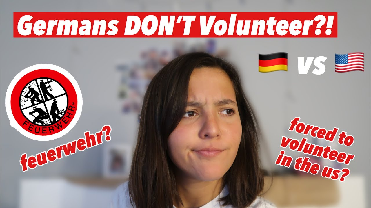 Is Volunteering UNCOMMON in Germany?!