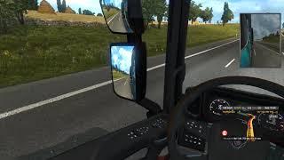 Euro Truck Simulator 2 - z Sheffield do Luxembourg