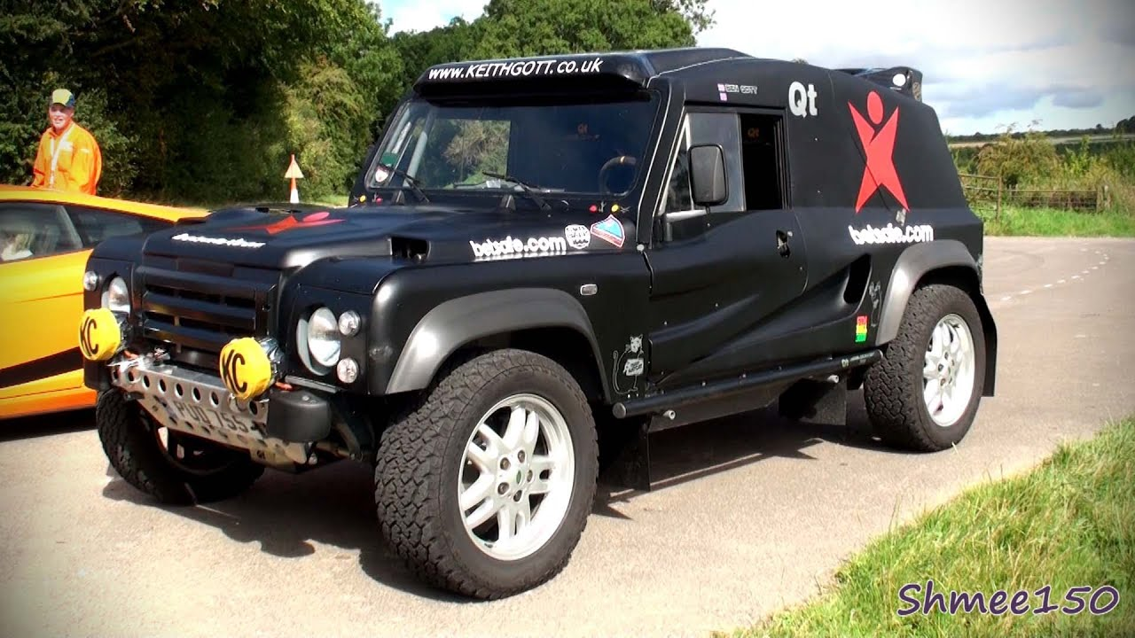 Bowler QT Wildcat - Ride, Sounds, Accelerations - Gumballer's Car ...