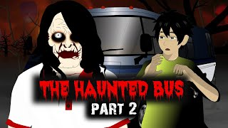 The Haunted Bus 2 Horror stories in Hindi Animated | Best Cartoon Horror Movies