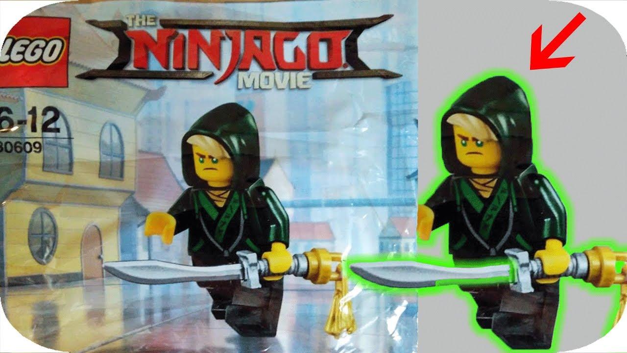 Lego Ninjargo Lloyd Mini Figure Polybag