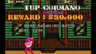 Sunset Riders SNES hard Speedrun as Cormano in 0:18:19