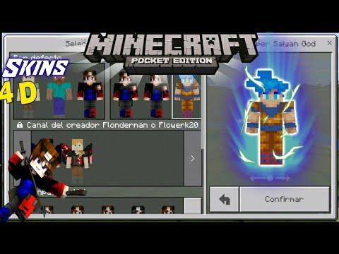 Minecraft Spielen Deutsch Baixar Skin Para Minecraft Pe Goku Bild - Skin para minecraft pe goku