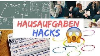 5 Hausaufgaben Hacks/Tipps/Schritt-für-Schritt-Anleitung (Besser-Schneller-Ohne Stresss)